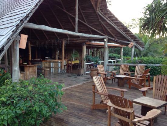 El Sabanero Eco Lodge: Breakfast area