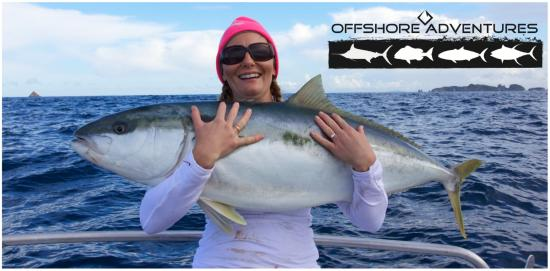 ‪Offshore Adventures - Day Fishing Charters‬
