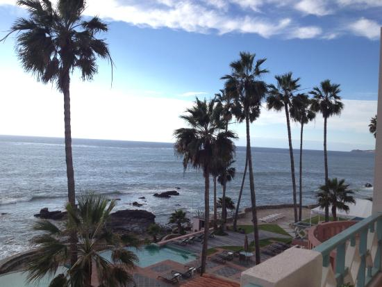 Las Rosas Hotel & Spa: View from our balcony