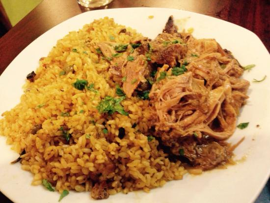 Campbell, OH: Roasted Pork with Rice