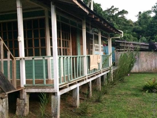 Tesoro Verde Lodge & Hostel: Habitaciones amplias y ventiladas