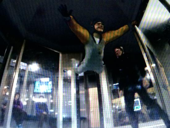 SkyVenture: Me in the Windtunnel