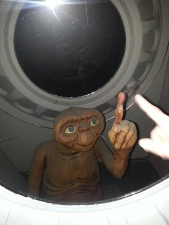 The Wax Works: ET