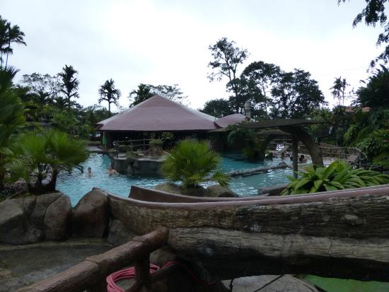 Los Lagos Hot Springs : View #2