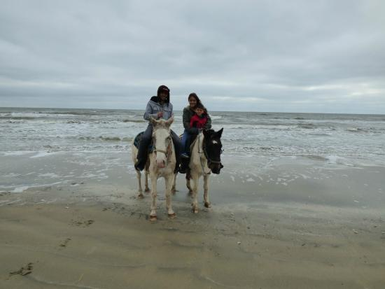 S-n-G Horseback Riding: mid-point of the ride