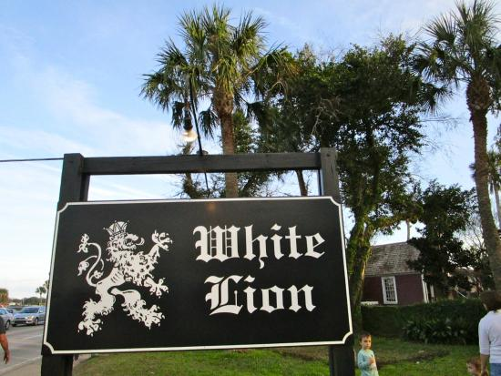 White Lion Restaurant St Augustine Florida