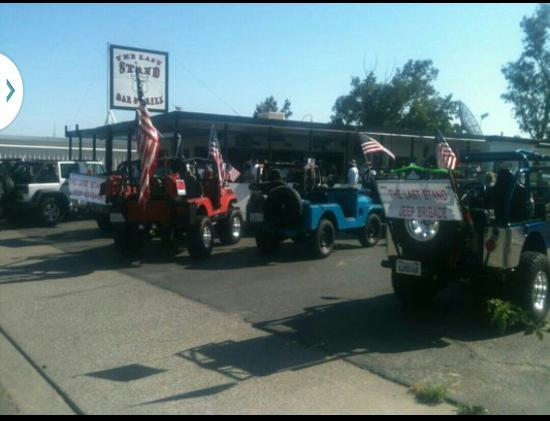The Last Stand Bar and Grill: The Last Stands Jeep Brigade