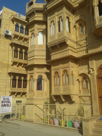 Hotel Royal Haveli: outside view