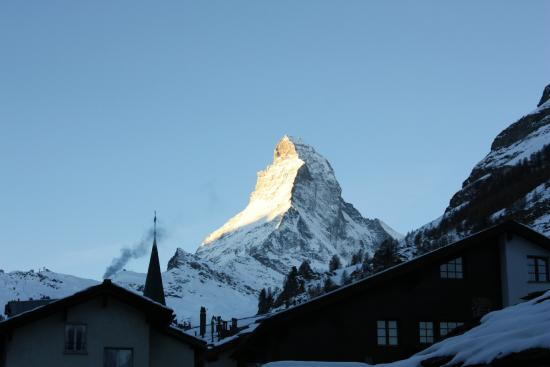 Hotel Excelsior : View of the Matterhorn from our room
