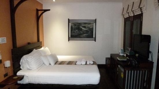Ancient Luangprabang Inn : 室内