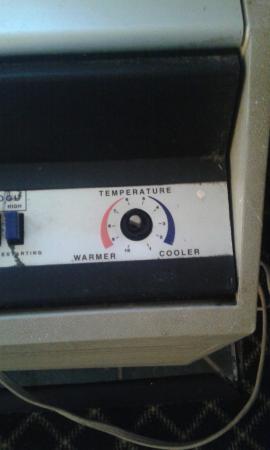 Knights Inn Michigan City: Very hard to turn heat on with broken knob