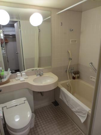 Hotel New Omi: バスルーム