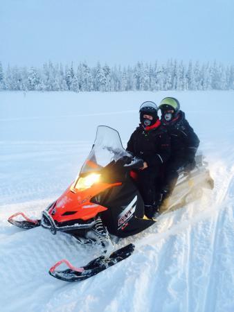 Fell Trek Rauhala: Gita motoslitte