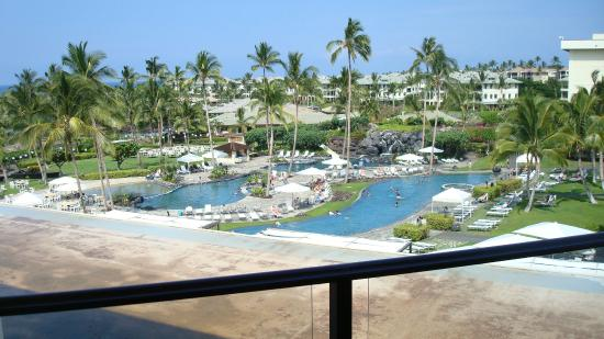 Waikoloa Beach Marriott Resort Spa View From Room