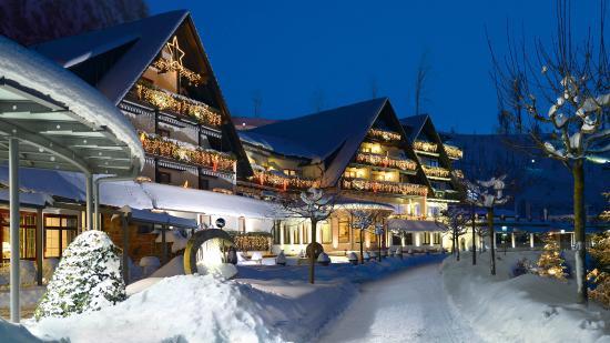 Weihnachtsbeleuchtung Am Dollenberg Bild Von Hotel Dollenberg Bad