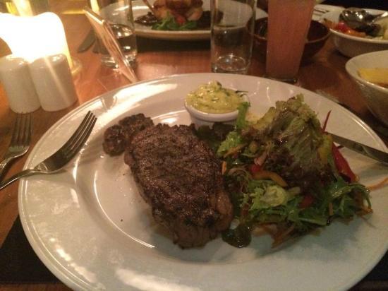 Greenacres : Sirloin Steak with Garlic Butter