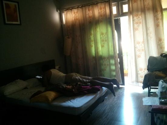 Hotel Bonanza: clean curtains