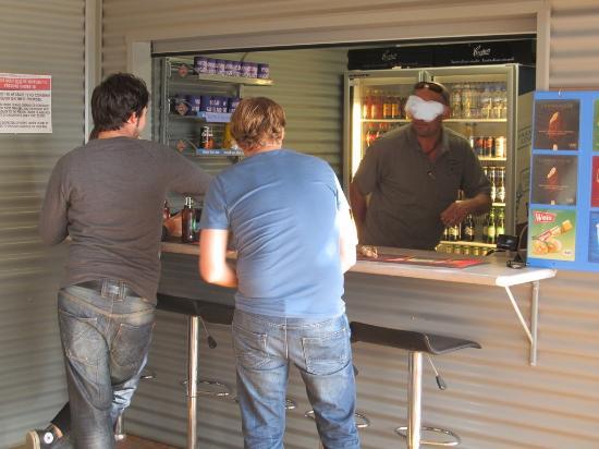 Vivonne Bay Lodge: Bar ist eröffnet