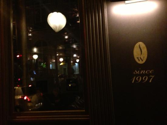 Sir Winston: Winston restaurant des souris