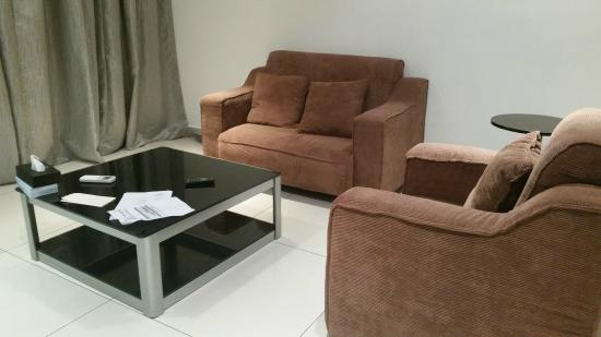 D'esplanade By KSL Resort: old and small furniture