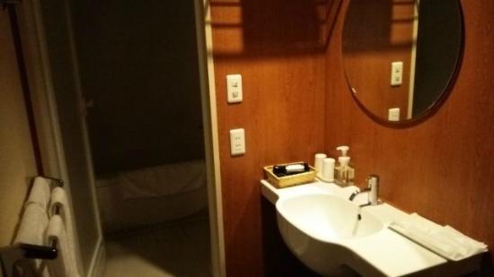 Hotel Park Side: バスルーム