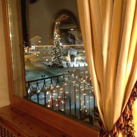 Hotel Ladinia: Vista da Ristorante
