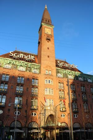 Scandic Palace Hotel Beautiful Building