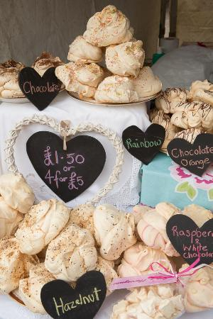 Gee's Meringues at Kendal Festival of Food, image by Mark Carr