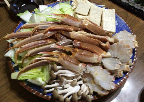 Umibenoyado Ekubo: 蟹鍋