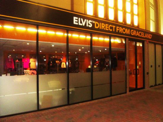 Gift Shop £££ - Picture of Elvis at The O2 Exhibition, London ...