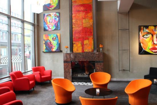 Scandic Plaza Umea: Lounge