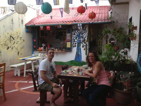 Casalegre Art Vila B&B - Santa Teresa: Breakfast