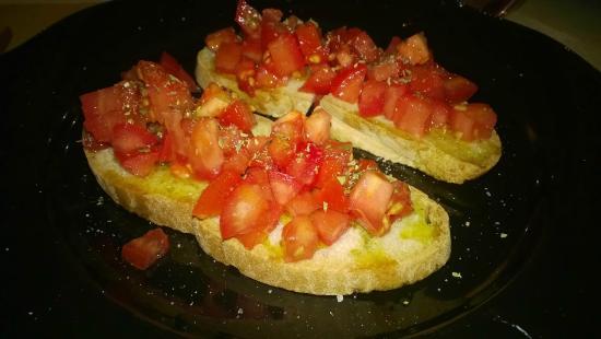 Crostini al Pomodoro - Acqua e Sale