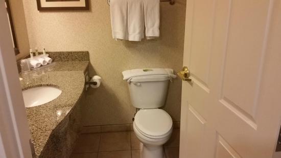 Holiday Inn Express Oro Valley - Tucson North: bathroom - tiny
