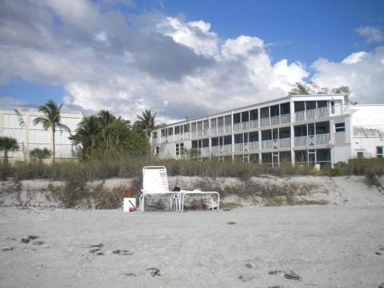 Island Inn Sanibel: Kimball Lodge1st Fl Gulfview Dlx Rm