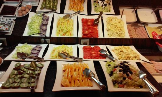 Soho Boutique Hotel: Buffet Breakfast