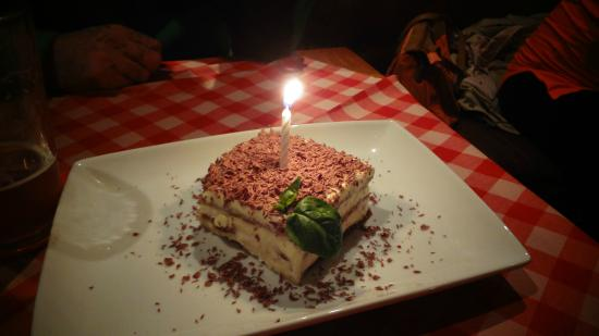 Mamma Gaucha: tiramisu de regalo por cumpleaños