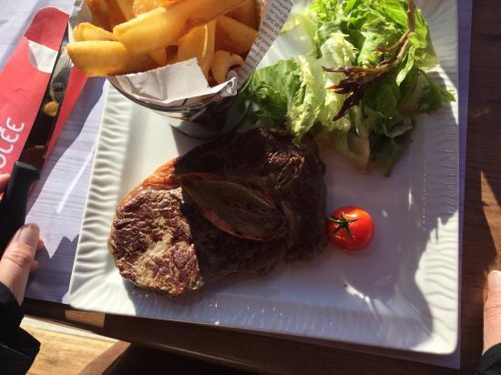 La Briz Olee : Entrecôte frites