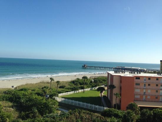 our view from the 7th floor balcony...awesome!!
