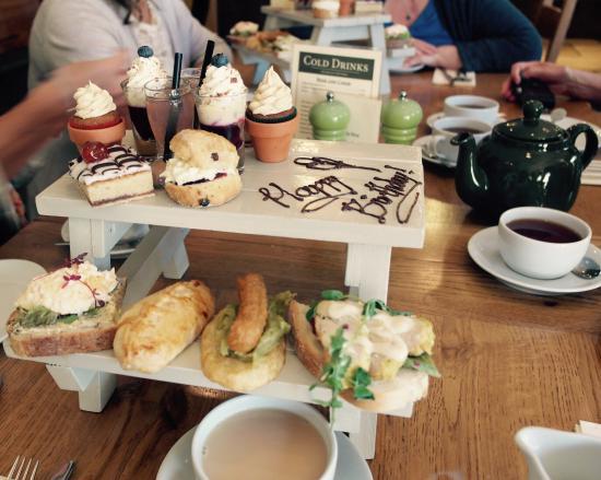 The Garden Kitchen: Birthday afternoon tea