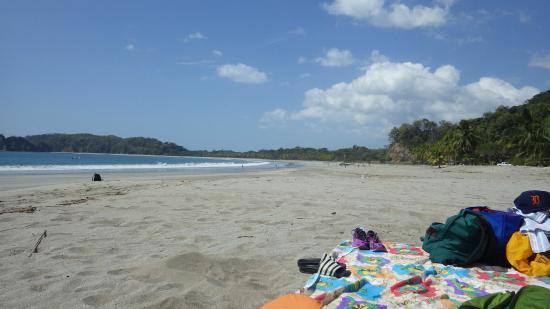 El Sueño Tropical: Beach about a mile away, Playa Carrillo