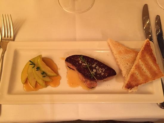 Cafe-Restaurant Quisisana Palace: Roasted foie gras - Excellent