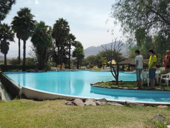 Hotel Nuevo Cantalloc: Swimming Pool