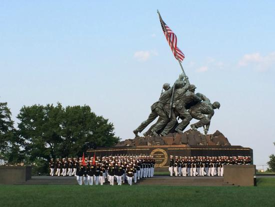 U.S. Marines Sunset Parade
