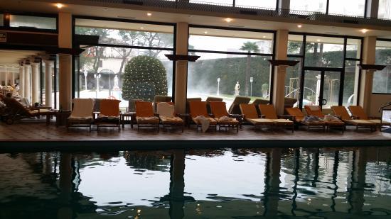 Hotel President Terme: la piscine intérieur