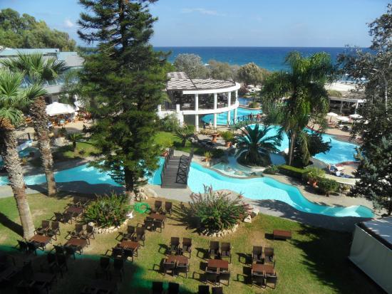 Hotel Calypso : vue de la chambre
