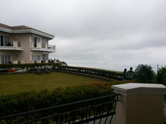 The Lake Hotel Tagaytay: view from our room