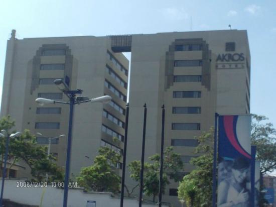 Akros Hotel : llegando al hotel
