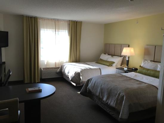 Candlewood Suites Newport News: Double Room