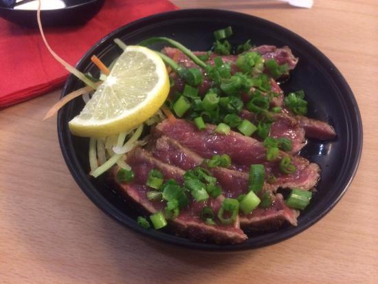 Bento Sushi: Beef Tataki